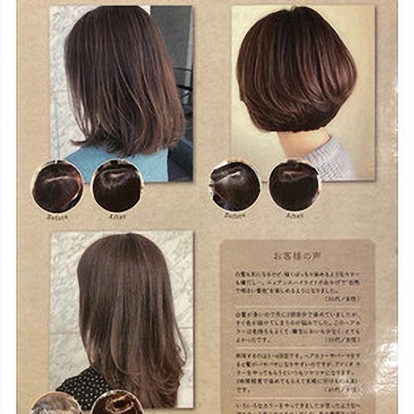 白髪を生かすニュアンスハイライト @ishida